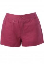 กางเกงขาสั้นสีชมพูบานเย็น