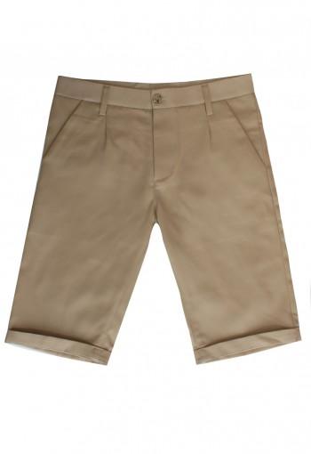 กางเกงขาสั้น สีน้ำตาล