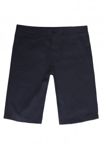 กางเกงขาสั้น สีน้ำเงิน Casual Style