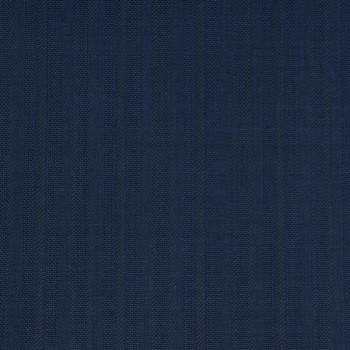BLUE STRIPE WOOL BLEND