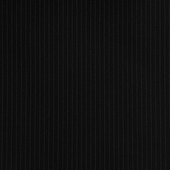 BLACK PINSTRIPE THIN WOOL BLEND