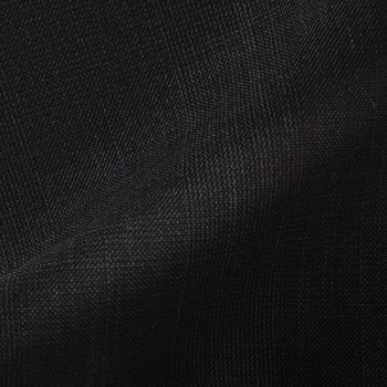 VERY DARK GRAY  (MOSTLY BLACK) GLEN PLAID WOOL BLEND