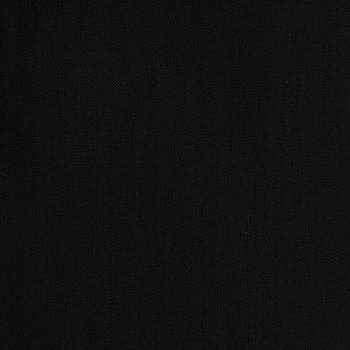 BLACK HERRINGBONE WOOL BLEND