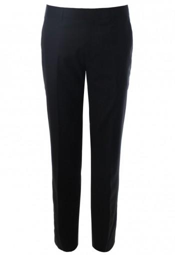 กางเกงสีดำผ้าวูล SuperBlack