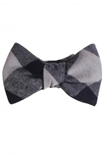 Charcoal Self Tie