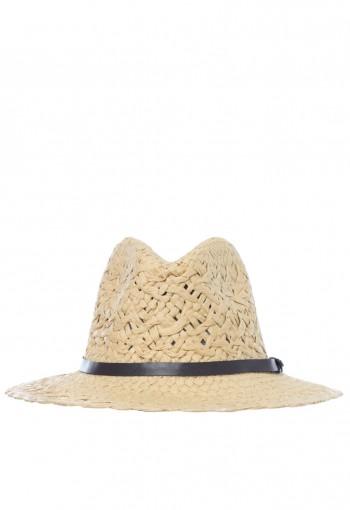 หมวกนายอำเภอสานสีเบจ