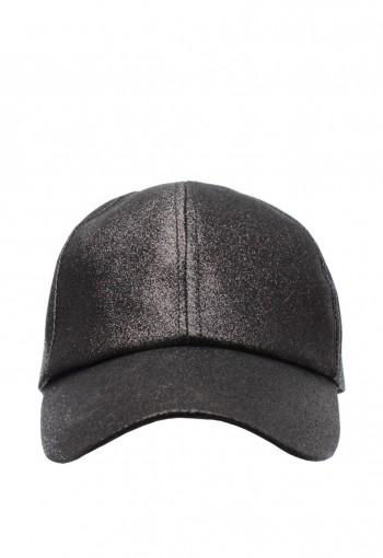 หมวกกลิตเตอร์สีดำ