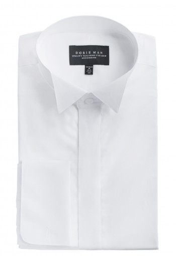 PLAIN WHITE WINGTIP SHIRT
