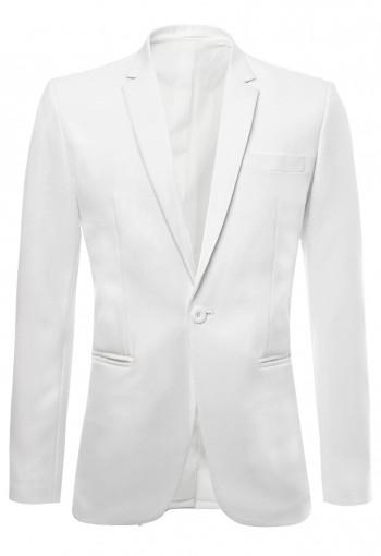 เสื้อสูทสีขาว Slim Fit