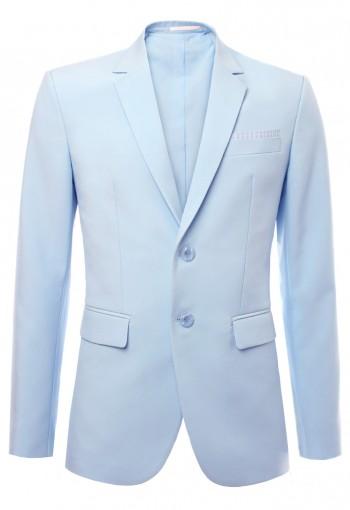 เสื้อสูทสีฟ้า