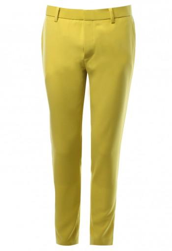 กางเกงขายาว เหลืองเลม่อน