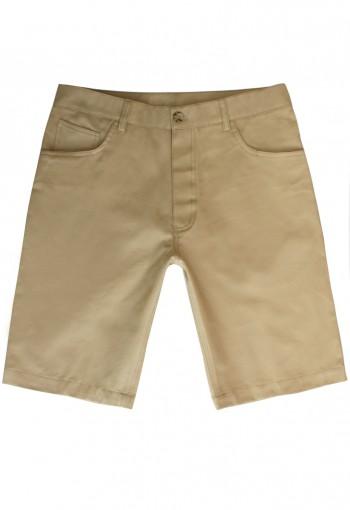 กางเกงขาสั้น สีน้ำตาล cotton 100%