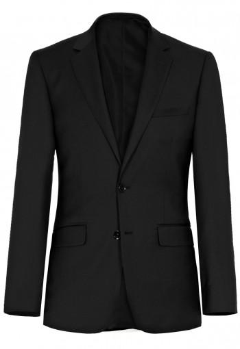 เสื้อสูทสีดำเข้ารูป กระดุม 2 เม็ด (จัดส่ง 5-7 วัน)
