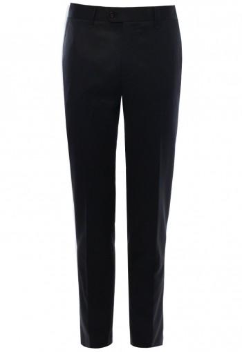 กางเกงขายาวแฟชั่น สีดำ