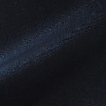 VERY DARK BLUE (MOSTLY BLACK) TWILL WOOL BLEND