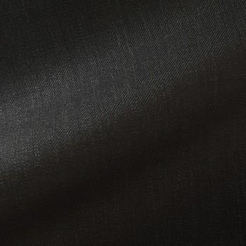 VERY DARK GRAY (MOSTLY BLACK) TWILL WOOL BLEND