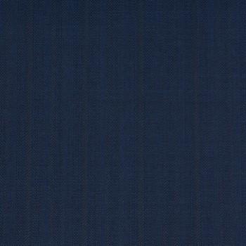BLUE STRIPE WOOL BLEND