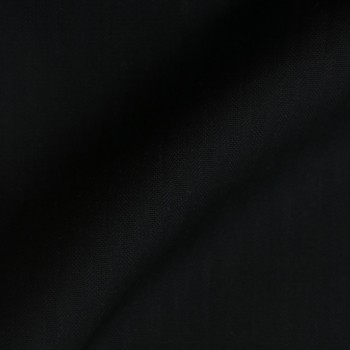 BLACK STRIPE WOOL BLEND