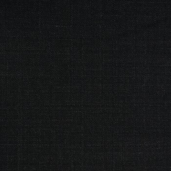 VERY DARK GREY (MOSTLY BLACK) CHECK WOOL BLEND