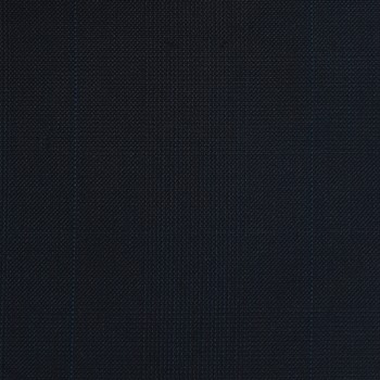 VERY DARK BLUE  (MOSTLY BLACK) GLEN PLAID WOOL BLEND