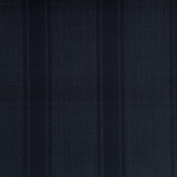 DARK BLUE TARTAN WOOL BLEND