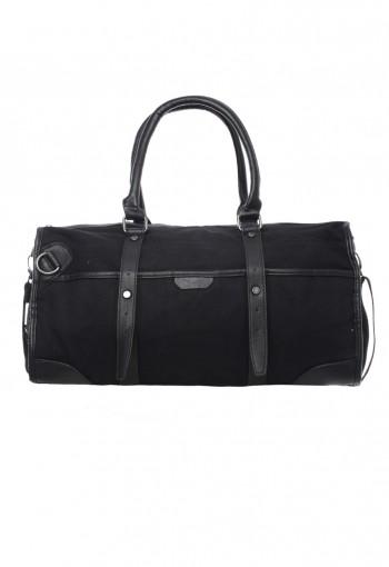 กระเป๋าถือสายหนังสีดำ