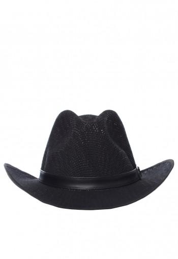 หมวกคาวบอยสีดำ