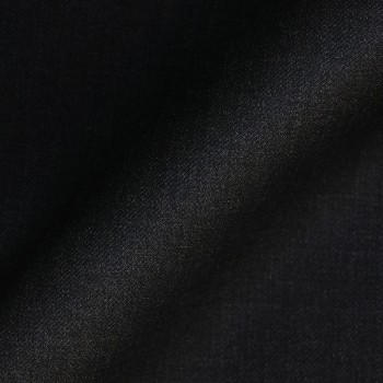 VERY DARK GREY (MOSTLY BLACK) FRESCO WOOL BLEND