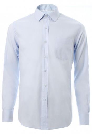เสื้อเชิ้ตสีฟ้าอ่อน