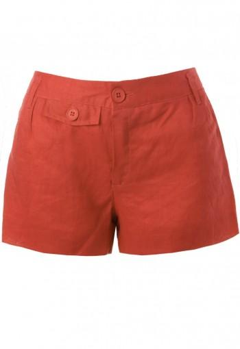 กางเกงขาสั้นสีส้ม