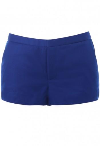 กางเกงขาสั้นสีน้ำเงิน