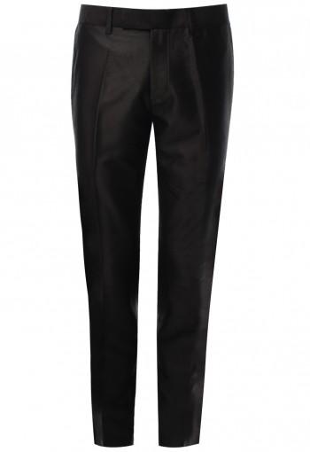 กางเกงขายาว สีเทาอมน้ำตาลเข้ม Shark Skin
