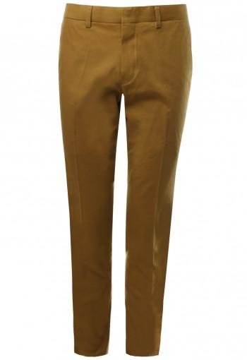 กางเกง ขายาว สีเหลืองมัสตาด