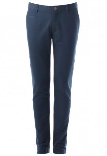 กางเกงสีน้ำเงินทรงกระบอกเล็ก