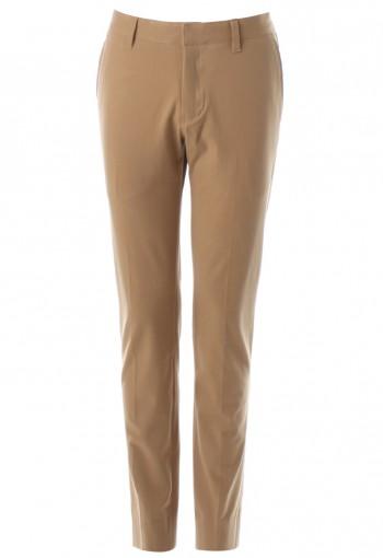 กางเกงสกินนี่ ผ้าสแปนเด็กซ์ สีกากี