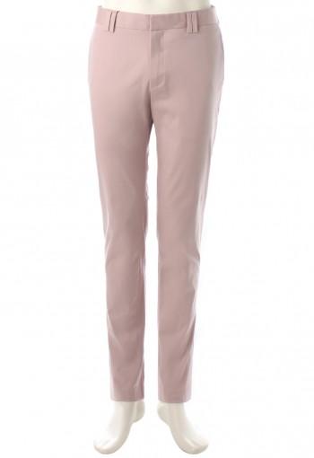 กางเกงสีชมพู-เทา ทรงกระบอกเล็ก