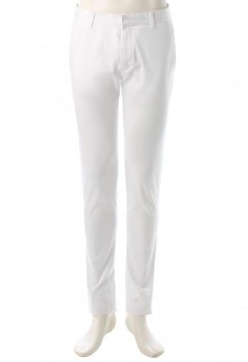 กางเกงสีขาวทรงกระบอกเล็ก
