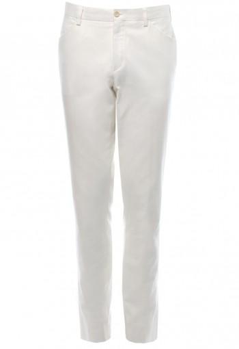 กางเกงขายาวผู้ชาย สีขาว