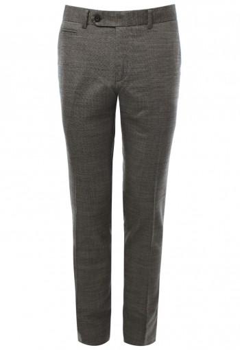 กางเกงสีน้ำตาลไหม้ New Zealand Wool 98%