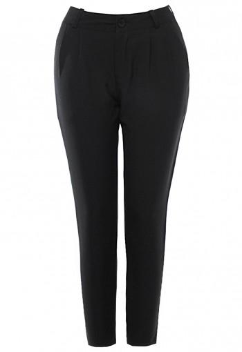 กางเกงสีดำ 5 ส่วน สีดำ