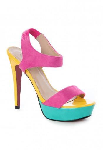 รองเท้าส้นสูง 3 สี