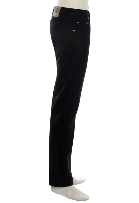 กางเกงยีนส์ ขาเดฟ สีดำ