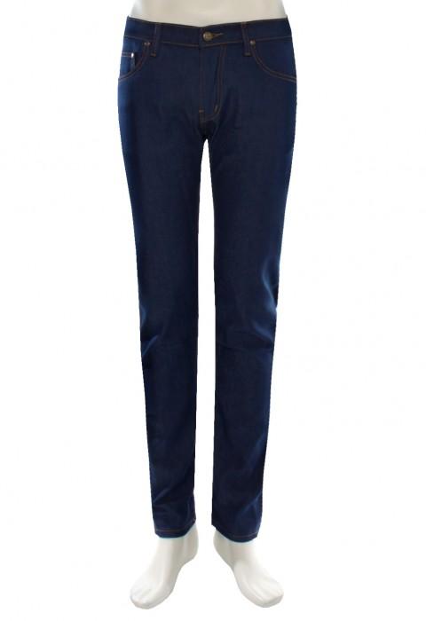 กางเกงยีนส์ สกินนี่ สีน้ำเงิน